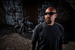 There is always a guard who stands outside a biker bar to make sure that an undesirable does not try to enter.