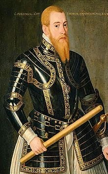 King Eric XIV of Sweden's portrait.