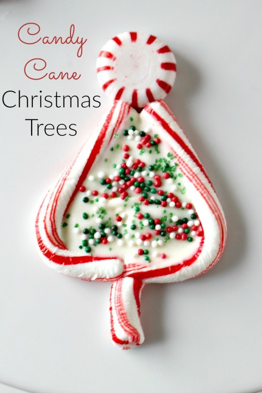 Make these Christmas tree treats with your kids.  You can find the recipe and instructions ... and they are easy to make.
