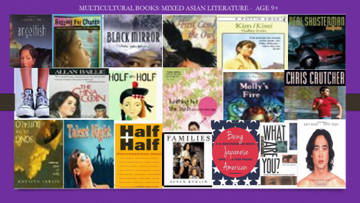 Multicultural Youth Literature: Mixed Asian - Age 9+. Some Titles mentioned on Karla Lucht ;s website: Hapa Characters In Youth Literature.