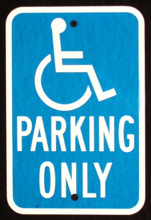 Handicap Parking when you really need it