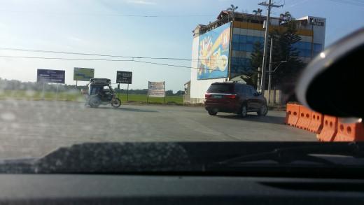 TPLEX Exit between Urdaneta and Binalonan, Pangasinan