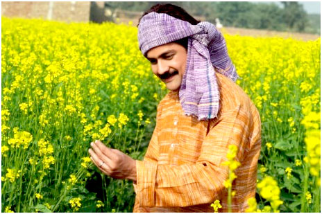 Hema's father in the field