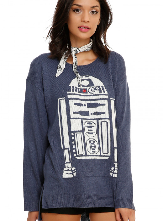 R2D2 sweater from Hot Topic.