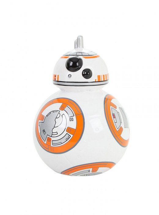 BB-8 coin bank from Hot Topic.