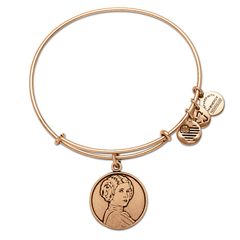 Princess Leia Alex and Ani bangle from the Disney Store.