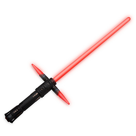 Kylo Ren lightsaber from the Disney Store.