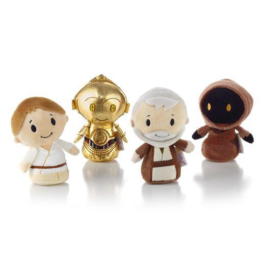 Star Wars Itty Bitty set from Hallmark.