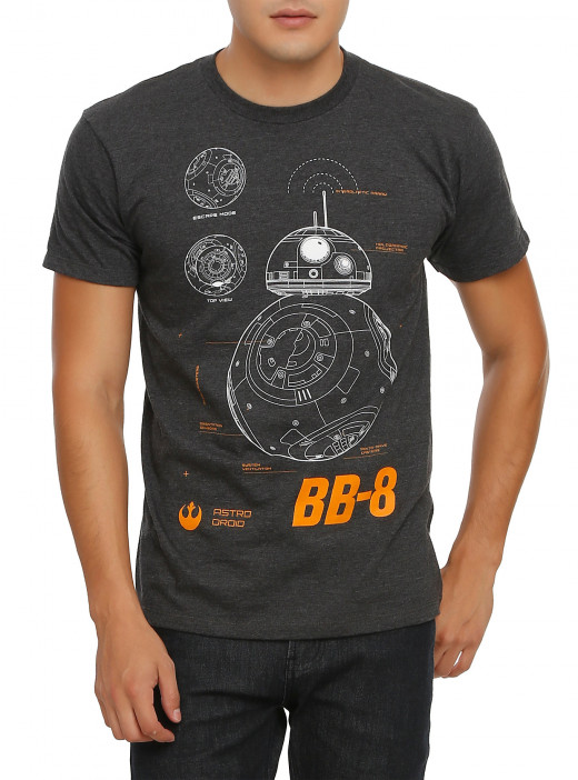BB-8 shirt from Hot Topic.