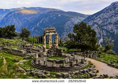 Sanctuary of Athena, Delphi Greece