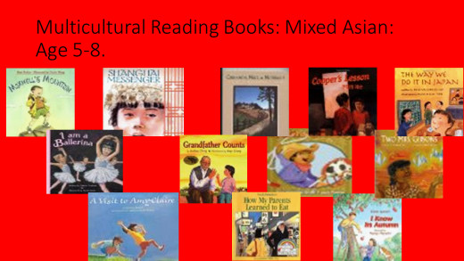 "Multicultural Children Books: Mixed Asian Youth Literature. Ages 5-8. Recommendations on Karla Lucht's. website "":Hapa Characters In Youth Literature"""