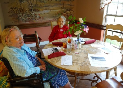 10 gift ideas for nursing home residents wehavekids the dining room at this facility is styled like an outdoor cafe residents make their negle Gallery