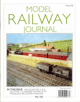 For the list on back issues of the Model Railway Journal (MRJ)