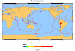 Earthquake Weather Forecast for December 2015