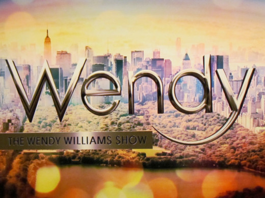 A photo of the sign displayed in the studio for Wendy's show