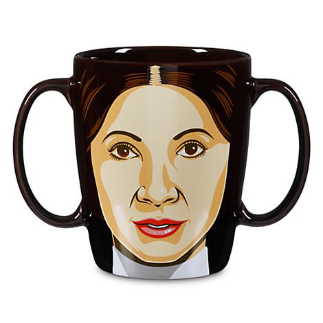 Princess Leia mug from the Disney Store.