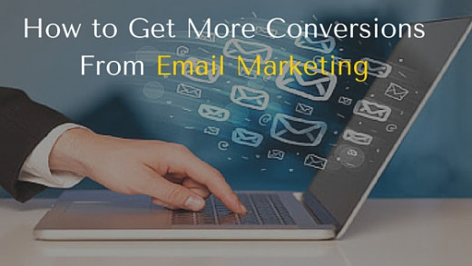 get more conversions from email marketing