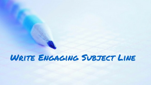 create engaging subject line
