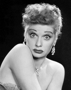 Lucille Ball Famous Red Head Female Comedian Series