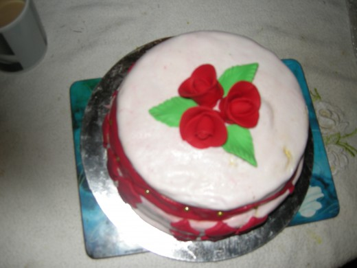 You can make your own Christmas cake