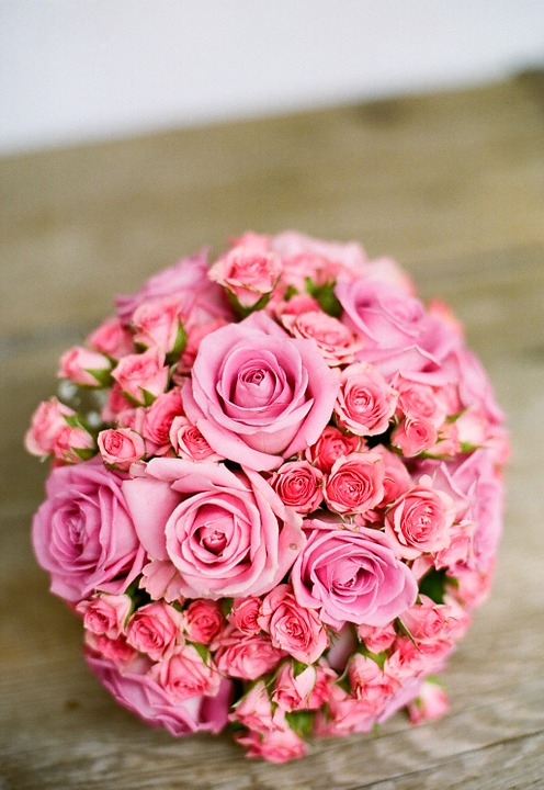I first received my fresh pink roses on my first Valentine's Day and that was the last too. I married him
