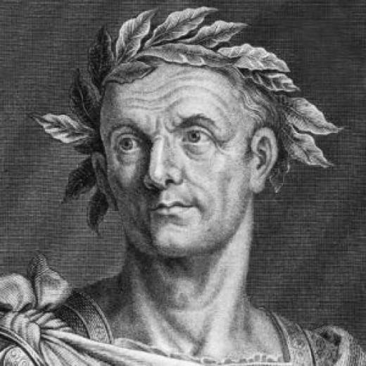 A representation of Julius Caesar