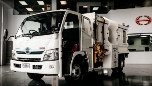 Hybrid Waste Truck