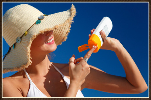 Active outdoors? Chemical sunscreens stay put better.