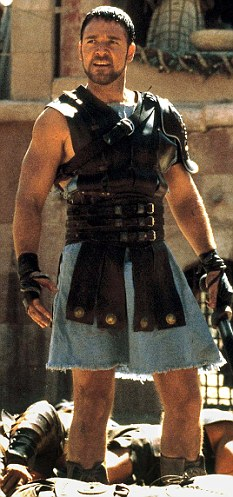 "Russell Crowe in ""Gladiator."" ""You like that? You like that?"""