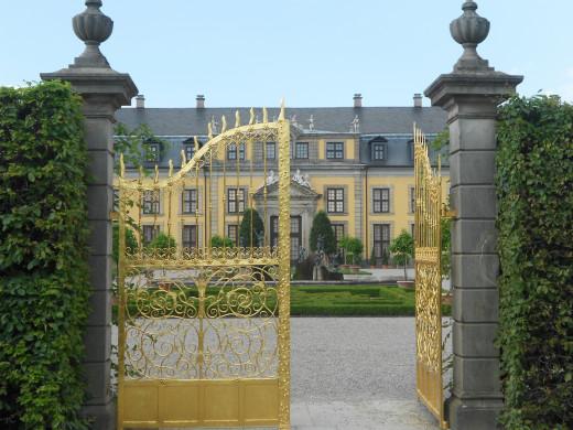 The Großer Garten - Herrenhäuser Gärten - Hannover, Germany
