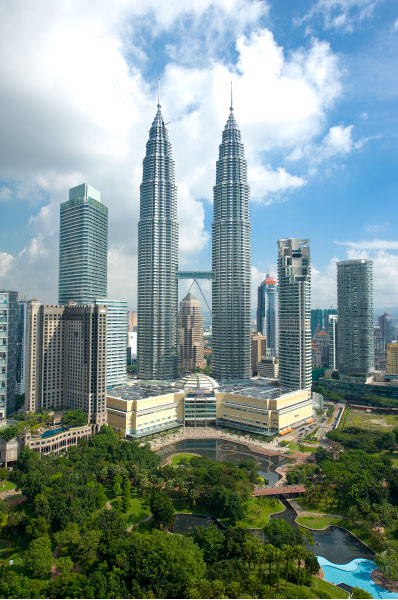Twin Towers of Petronas, Kuala Lumpur