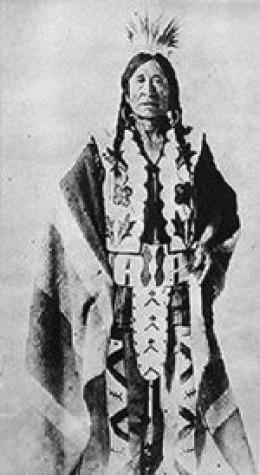Chief Stone Child or 'Rocky Boy'