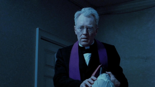 """Max Von Sydow as Father Mirrin in """"The Exorcist"""""""