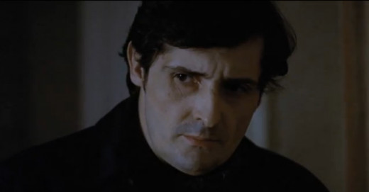 """Father Karras played by Jason Miller in """"The Exorcist"""""""