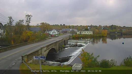 Trafton Falls, Milo, Maine