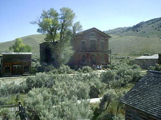 Bannack ghost town