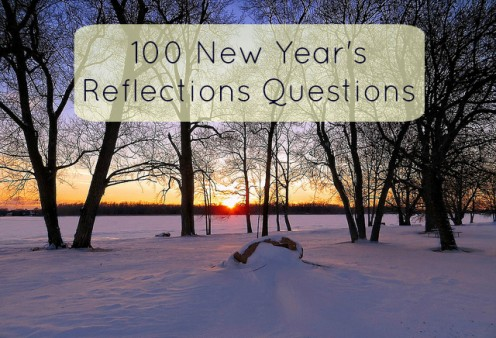 100 Process Questions to Bring in the New Year Mindfully:  A New Year's Resolution Guide