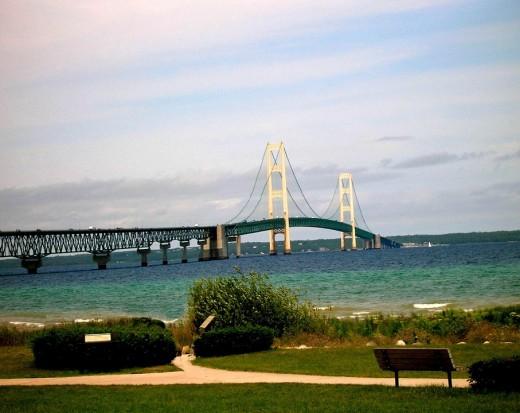 Famous Mackinack Bridge