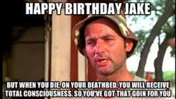 Birthday Deathbed