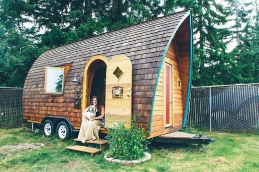 Tiny homes are comfortable, efficient, often portable, and most important, mortgage free. They represent freedom, freedom from debt, freedom from conspicuous consumption, and freedom to live a life of passion.