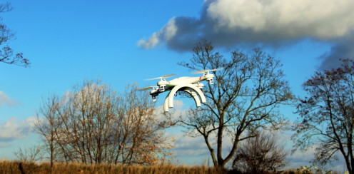 Increases in drone activity may cause an increase in UFO reports at first.