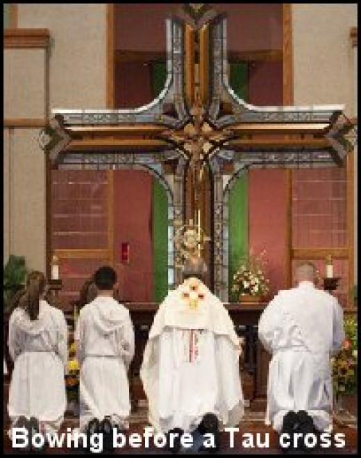 Worshiping symbols
