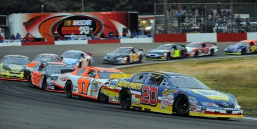NASCAR K&N Pro Series West  race at the Douglas County Speedway