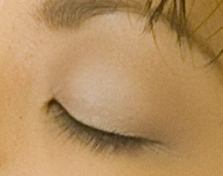 The thinnest skin on a human body is the skin covering the eyelids.