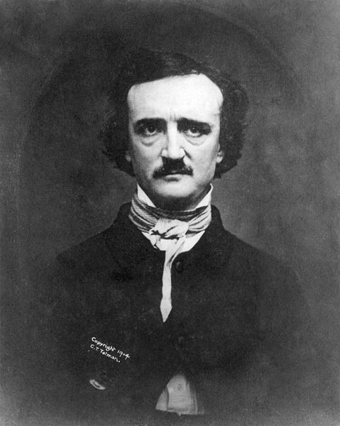 Poe's life was riddled with death and tragedy, it's no wonder his ghost is trapped here.