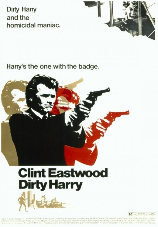 "Poster for ""Dirty Harry"""