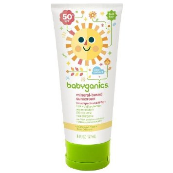 Babyganics Mineral Based Sunscreen Fragrance Free - SPF 50+