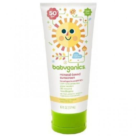 Babyganics Mineral Based Sunscreen Fragrance Free - SPF 50+