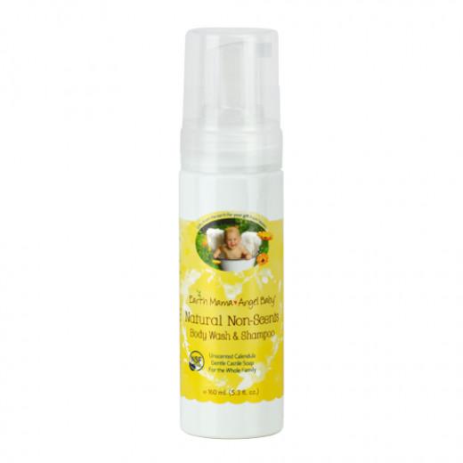 Earth Mama Angel Baby Natural Non-Scents Body Wash & Shampoo
