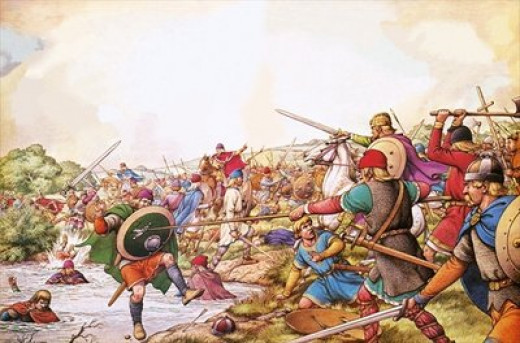 The battle by the River Winwaed where Penda paid for his greed for power and wealth
